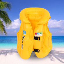 Hot Baby Life Jackets Kids Float Inflatable Swim Vest Jacket Swimming Aid for Teens MCK99