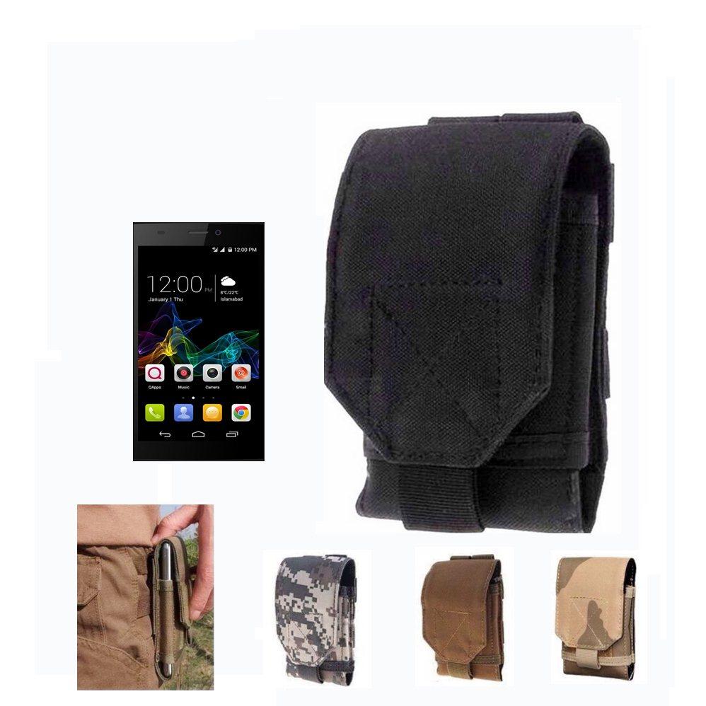 Universal Outdoor Phone Bag Under 5.5inch Sport Pouch Belt Hook Loop Holster Waist Case Bag For Qmobile Noir Z8