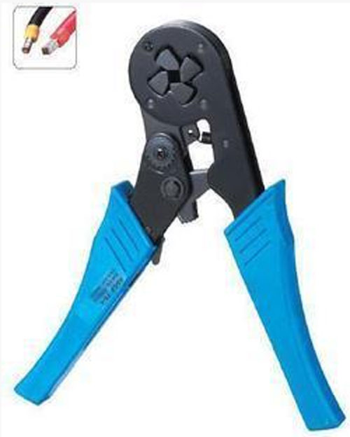 HSC8 16-4 Hand Mini Self-adjustable Crimping Plier Crimper For Insulated Terminals AWG 12-6 Square mm 4-16 Cable end-sleeves