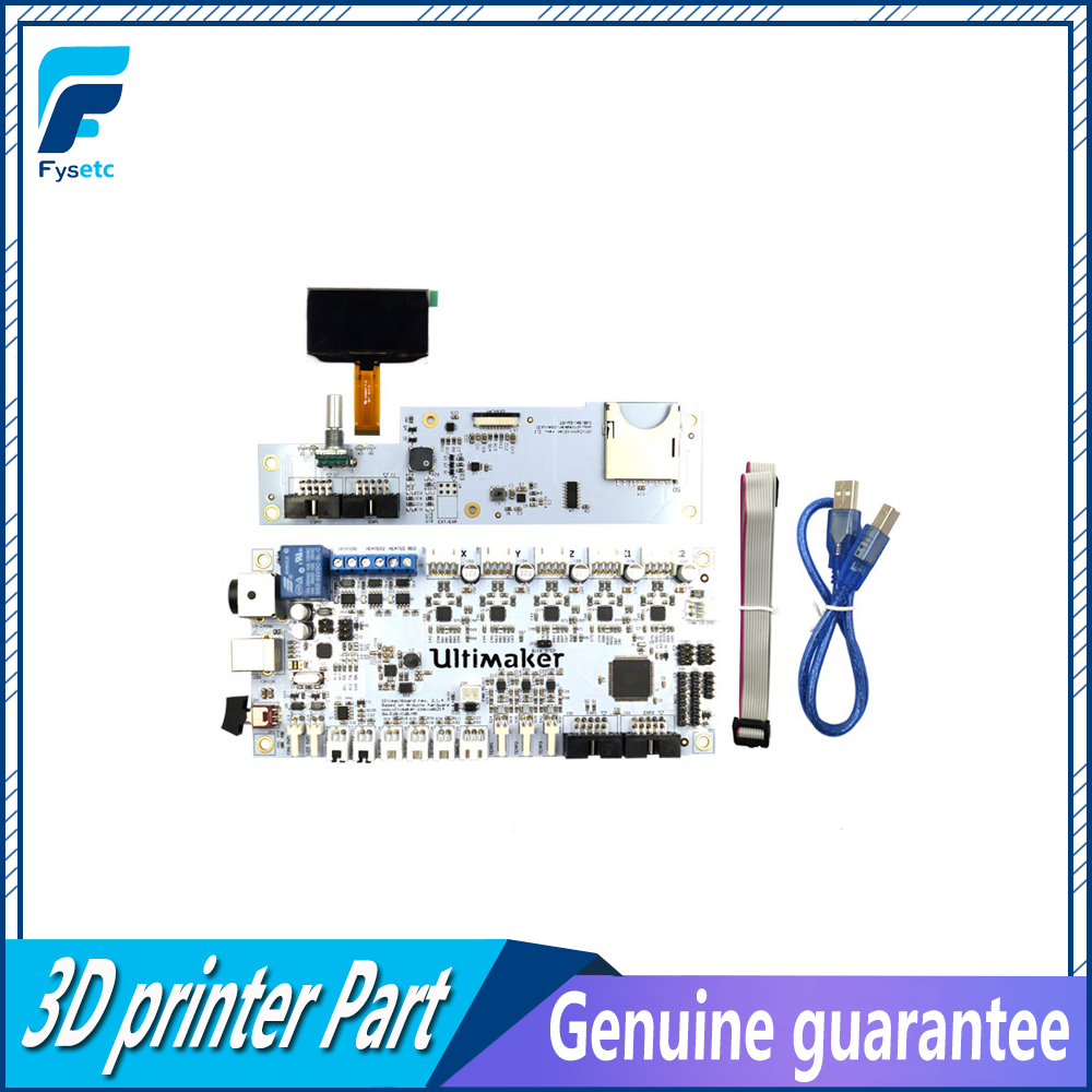 цена на 3D Printer Machine UM2 Ultimaker 2 mainboard kit with Controller board and Main Board LCD Display For Ultimaker 3D Printers