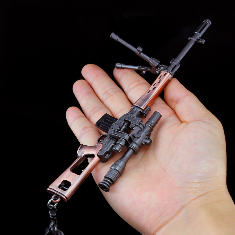 Toys & Hobbies 1pcs Weapons Model Mini Toy Sniper Rifle Orbeezy Toys Toy Metal Guns Scale Gun Model Pneumatic Weapon Jsuny Outdoor Fun & Sports
