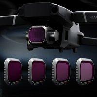 PGYTECH Mavic 2 Pro Camera Lens Filter Set ND8/16/32/64 PL ND8/16/32/64 Filters Kit for DJI Mavic 2 Pro Filter Accessories