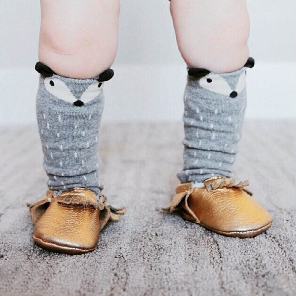 Fashion-Style-Girls-Tights-Cartoon-Toddler-Tights-Kids-Girls-Fox-Pattern-Knee-High-Socks-For-Age-0-6-Years-3