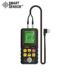 Ultradźwiękowy przyrząd do pomiaru grubości dźwięku miernik prędkości metalu szerokość przyrząd pomiarowy 1.2 do 225MM dla stalowej płyty aluminiowej w Mierniki ultradźwiękowe od Narzędzia na
