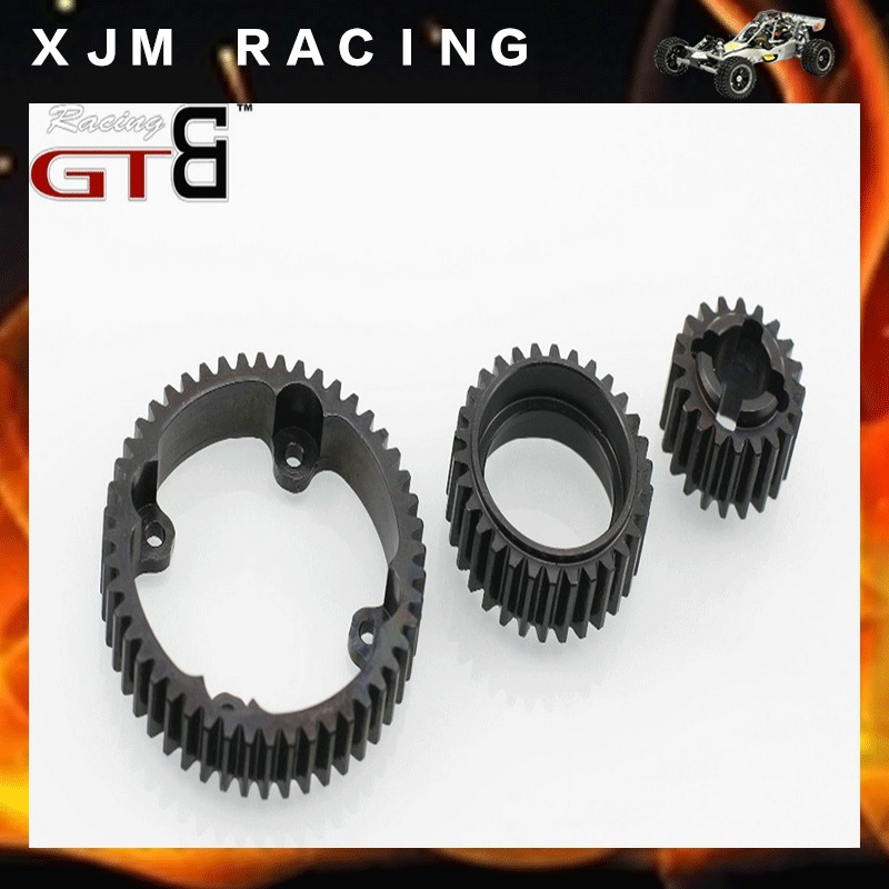 GTB Racing Wave box 20T/30T/48T steel gear For 1/5 rc car hpi baja 5b/5t/5sc main pump combination for gtb 4 wheel hydraulic brake set fit for 1 5 rc car hpi baja 5b ss