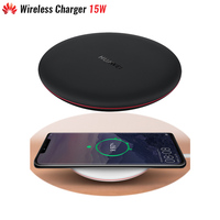 Original Huawei Wireless Charger 15W Max For Mate 20 P30 Pro (15W) Qi Compatible Cellphone (5 10W) Multiple Safe Protection