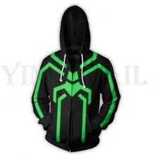 Men and Women Zip Up Hoodies Spiderman 3d Print Hooded Jacket Mravel Movie Superheroes Sweatshirt Costume Harajuku Streetwear