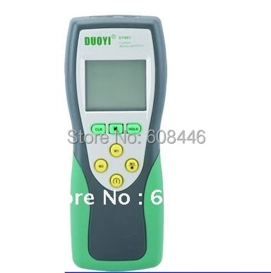 Carbon Monoxide CO Gas Meter Digital Tester Gas Sensor 0-1000ppm range  DY881 0 2000ppm range wall mount indoor air quality temperature rh carbon dioxide co2 monitor digital meter sensor controller