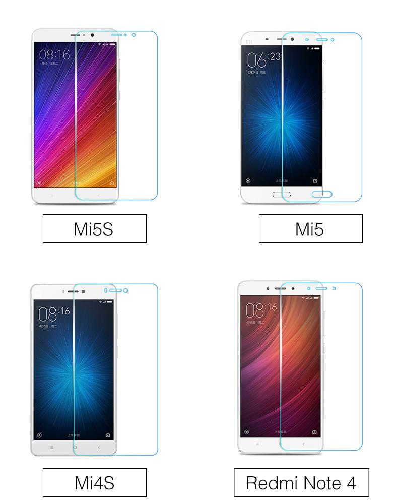 Szkło hartowane screen protector dla xiaomi redmi 4 aiyoo pro uwaga 3 4 4x mi4 redmi 3 s 4a mi6 mi5s plus mi5 mi4i mi4c szkło film 10