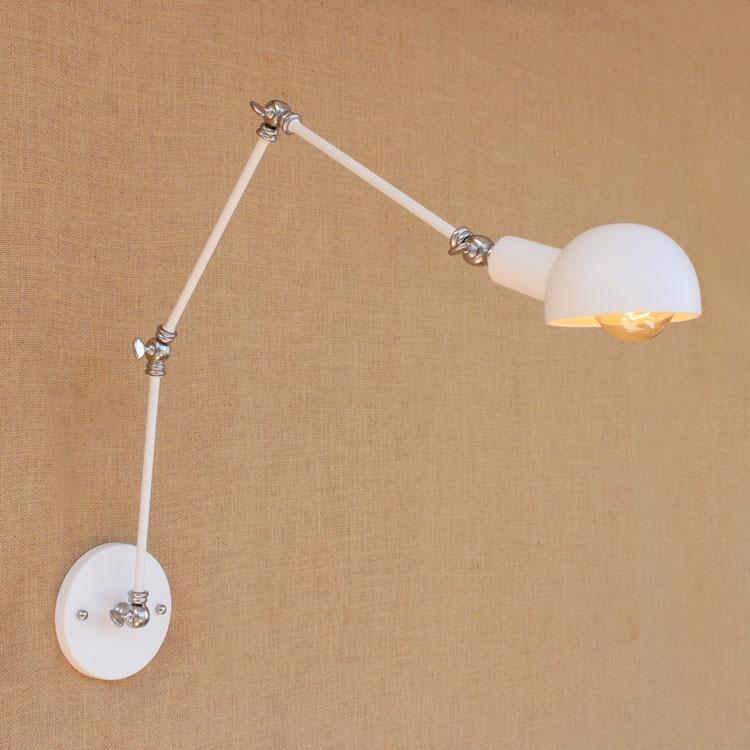 Retro Swing White Arm Wandleuchten Dinning LED Loft-Stil industrielle - Innenbeleuchtung - Foto 5