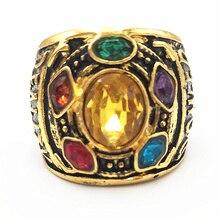 Gauntlet Power Avengers Thanos glove infinity war Rings Rings Infinity War men women anillo infinito Jewelry