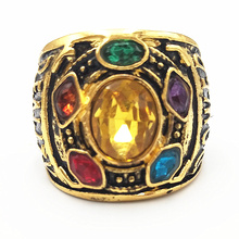 Gauntlet Power Avengers Thanos glove infinity war Rings Rings Infinity War men women anillo infinito Jewelry
