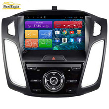"NAVITOPIA 9"" Quad Core Android 6.0 2G RAM Car GPS Navigation for Ford Focus 2012-2013 Car DVD Multimedia Player Radio Stereo"