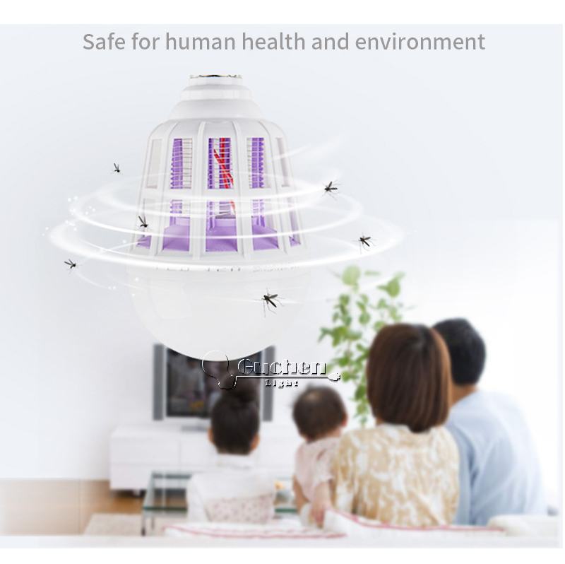 _07  Digital Insect Killer/Mosquito Zapper Lamps Fly Killer E27 LED Bulb Socket Base House Indoor Out of doors Backyard Patio Yard UV HTB1nzmSjSMmBKNjSZTEq6ysKpXaG