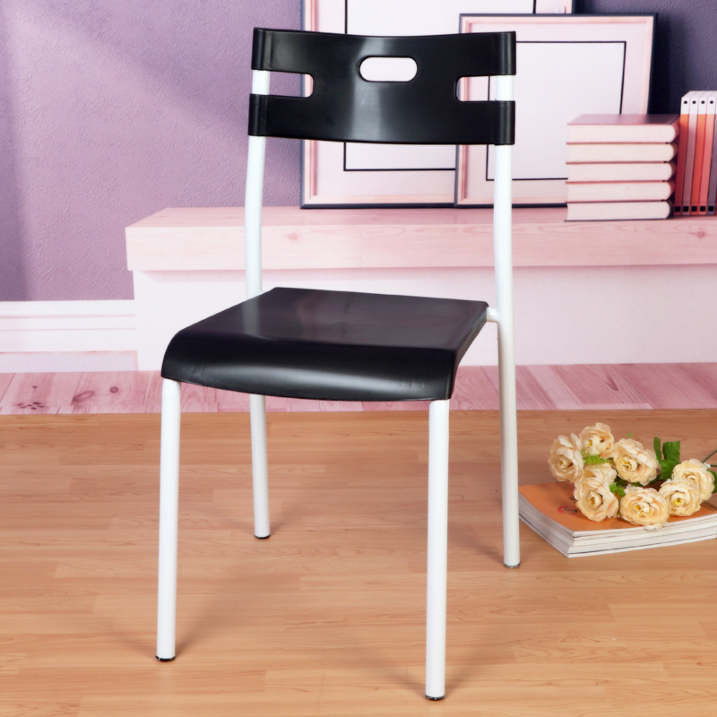 modern stylish simple stool&chair, 7 colors available, afford 150kg, stackable and no need to fix, 4 ones gets up sells