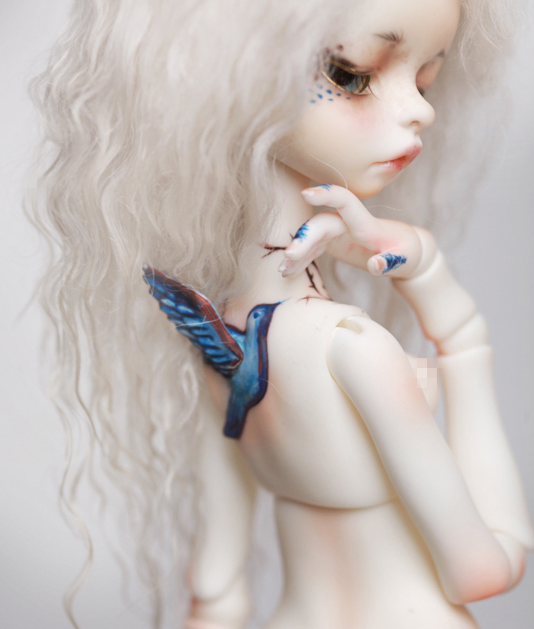 Free shipping bjd doll 1 6 Wangda