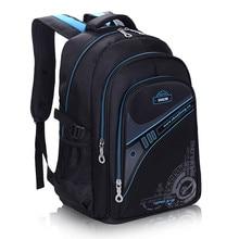 Children font b School b font font b Bags b font For Boys Thickened back Backpack