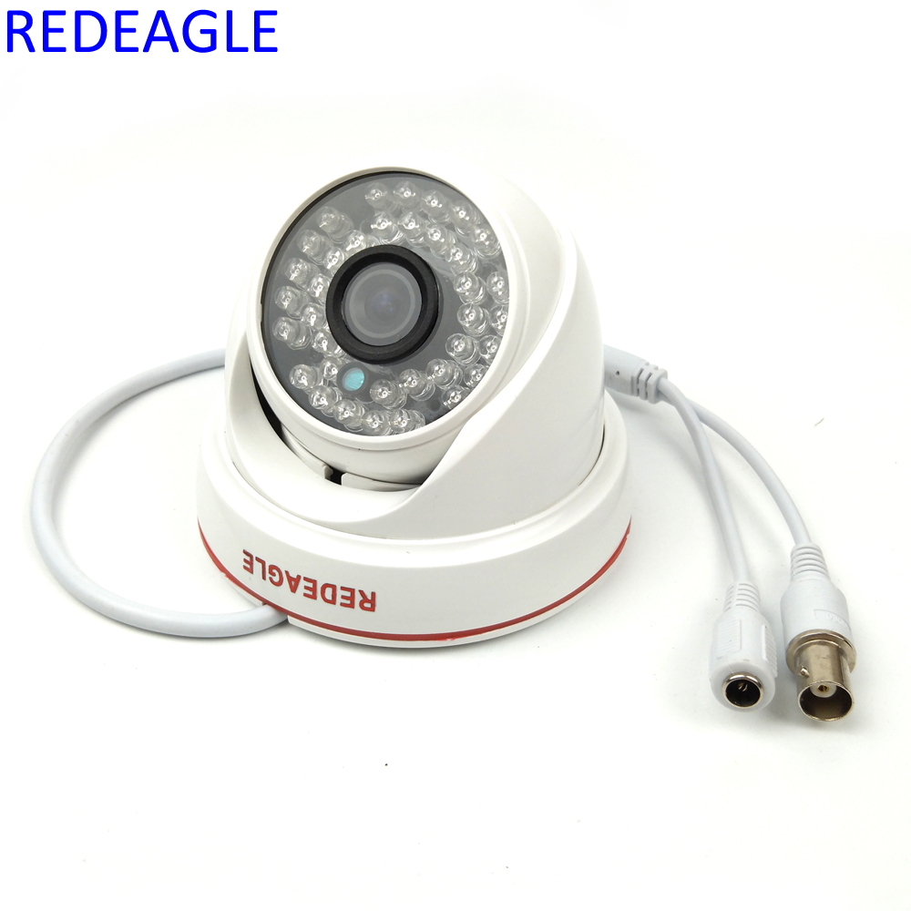 36 LED Night Vision indoor Dome Surveillance Camera 900TVL 1/4 CMOS IR Security Cameras 4 in 1 ir high speed dome camera ahd tvi cvi cvbs 1080p output ir night vision 150m ptz dome camera with wiper
