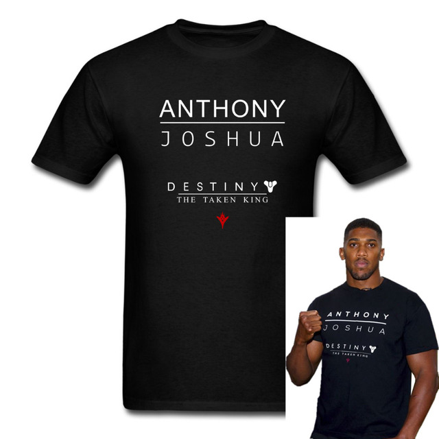 1329bc52 Anthony Joshua FCUK FEAR Heavyweight Champion men T-shirt T shirt euro size  S-