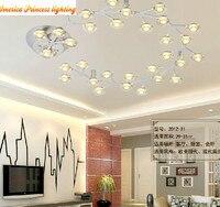 LED30 головы Звездное плафоны спальня гостиная столовая прихожая, белый, 845*845 мм, AC85 265V