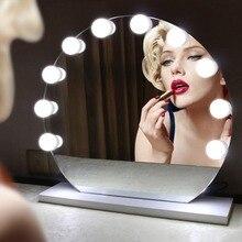 Макияж зеркало светильник 220V 110V туалетный светильник накаливания с регулируемой яркостью светодиодный зеркальная лампа для спальни настольная лампа
