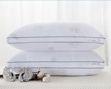 Cotton Feather Pillow/ Throw pillows Pillow/Zero Pressure Memory 48x74cm Pillow Neck Health care hotel white