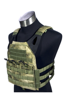 MILITECH Atacs FG Deluxe FLYYE Mil Spec Military JPC Style Plate Carrier Molle Tactical Vest Army Military Combat Vests Carrier