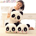 30*25cm Cartoon Animal Papa Bear Pillow hands warm plush toy doll large panda bear muff pillow warm Hand doll gift
