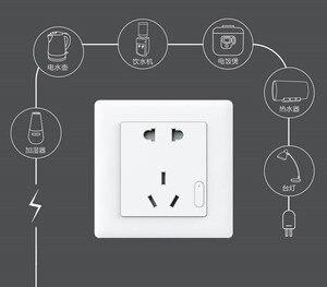 Image 5 - Originale Xiaomi casa Intelligente Aqara Controllo Della Luce Intelligente ZiGBee Interruttore Presa A Muro Spina Tramite Smartphone Xiaomi APP A Distanza Senza Fili