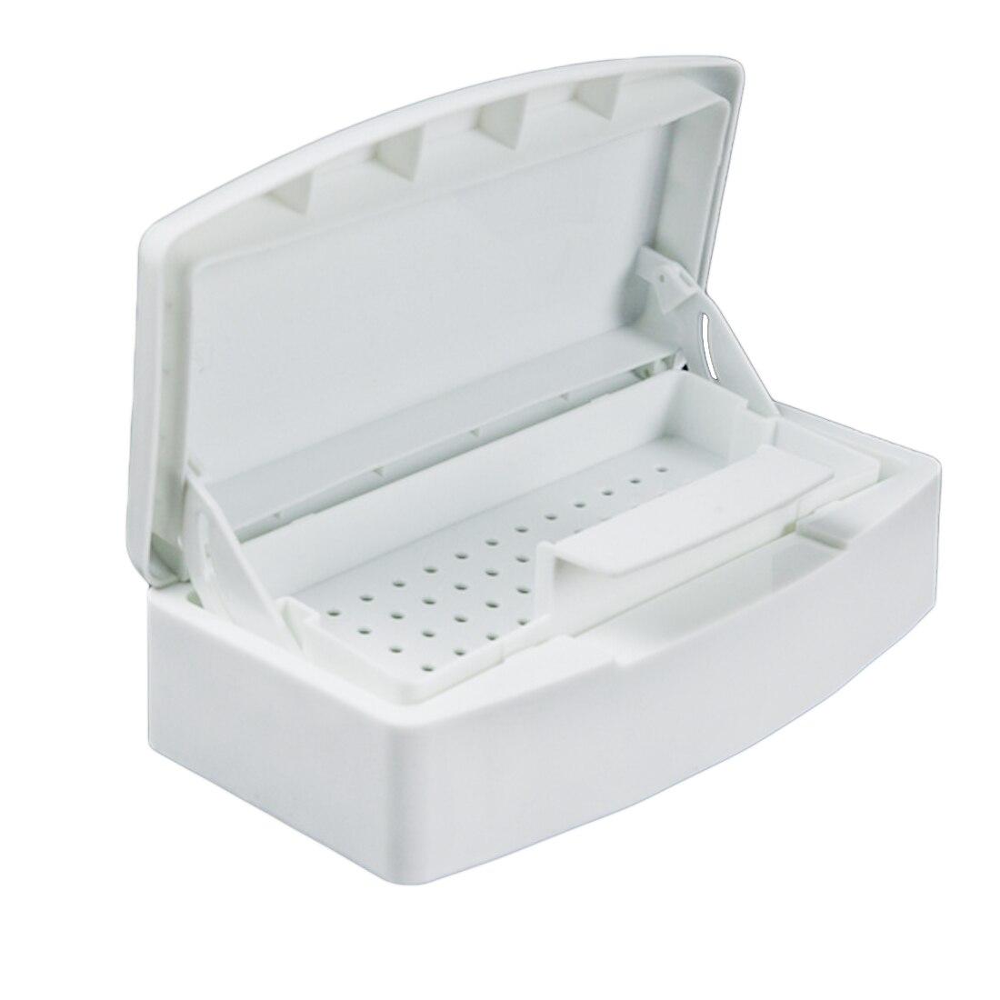 Vendita calda Professionale Del Chiodo Sterilizzatore Vassoio di Disinfezione Pedicure Manicure Scatola di Chiodi di Arte Scatole di Sterilizzazione Salon Tools