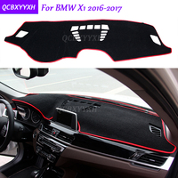 For BMW X1 2016 2017 Dashboard Mat Protective Interior Photophobism Pad Shade Cushion Car Styling Auto Accessories