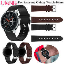 Genuine Classic Leather Strap For Samsung Gear S3 22mm Band Frontier Strap For Samsung Galaxy 46mm Classic Watchband  wristband