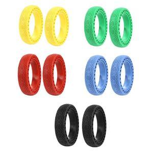 2 шт., амортизирующие твердые шины 8,5 дюймов для электрических скутеров, снасти для XIAOMI PRO M365, пневматические шины, улучшенные
