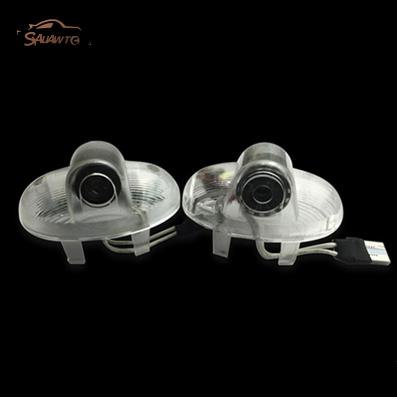 2x For Mazda 8 6 RX8 RX-8 CX-9 RUIYI A8 LED Car Door Welcome Light Laser Courtesy Projector Logo Light