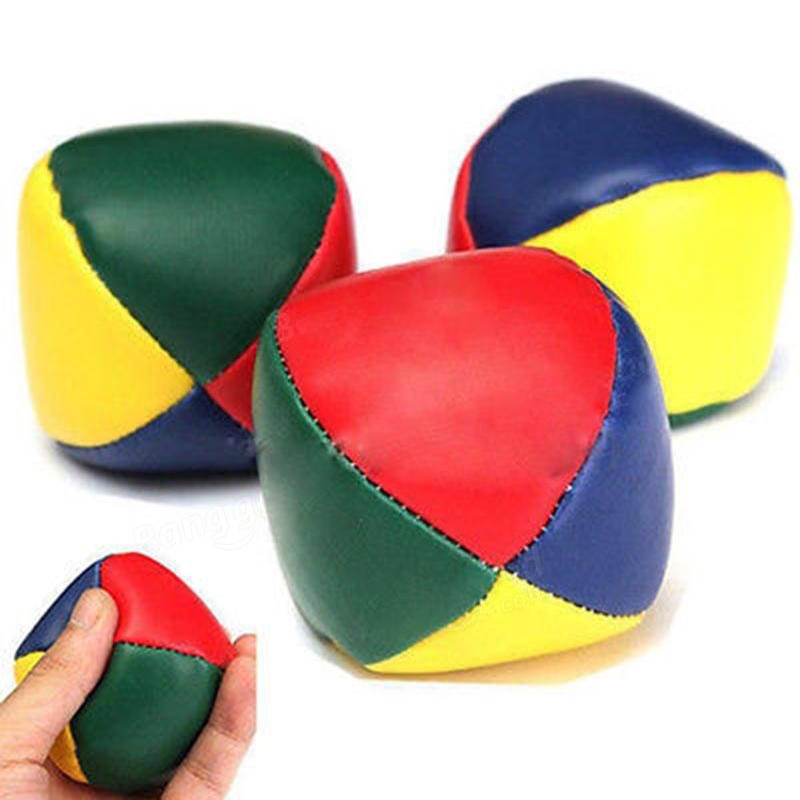 new Juggling Balls Funny Prop Multicolor Handball Safety PU Toys Kids Beanball Playing Children Classic Outdoor