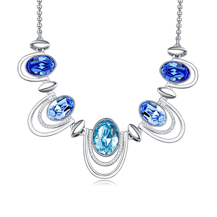 2018 colliers et pendentifs en cristal plaqué alliage bijoux et bijoux 2016 collier long femmes bijoux de mode en gros - 2