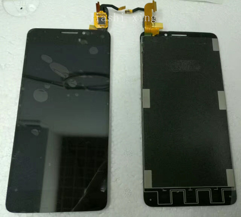 6040 LCD Display+Touch Screen Panel Digitizer Accessories For Alcatel One Touch Idol X 6040A  5.0 Smartphone Free Shipping