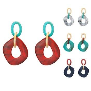 Acrylic Minimalist Earrings Charm 1