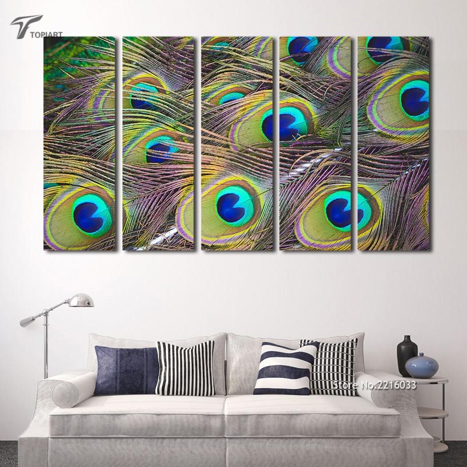 peinture paon plumes promotion achetez des peinture paon plumes promotionnels sur. Black Bedroom Furniture Sets. Home Design Ideas