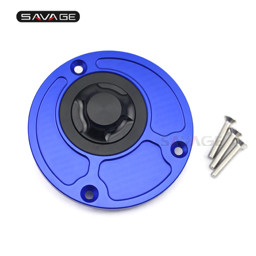 CNC Fuel Tank Cap For YAMAHAYZF R3 R25 R15 V3 MT 03 MT03 MT 25 MT25 MT 15 M SLAZ Motorcycle Accessories Gas Feul Oil Cover Motos in Covers Ornamental Mouldings from Automobiles Motorcycles
