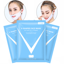 3PC EFERO Slimming Mask 4D V-Shaped Lifting Face Neck Mask E