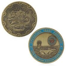 Памятные монеты США Авраам Линкольн Святого Георгия сувенир Новинка