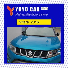 Hot sale new design ABS material modification front grill racing grills grille for Vitara 2016 16