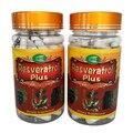 5 Garrafas de Cápsula Resveratrol Além de Extrato de Semente de Uva e Extrato de Casca de Pinho de 450 mg x 450 Contagens