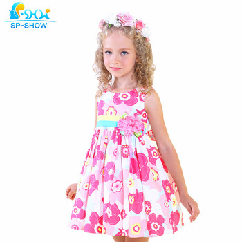 be516dfd101 100% algodón Vestidos para Niñas adecuado para 7-15 edad marca Niñas vestido  niños ropa niños vestidos infantis 8059