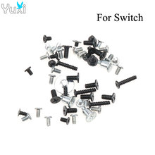 1 Bag Full set Screw For Nintendo Switch NS NX Console Replacement Screws Set hot sales replacement for apple iphone 5 5g full screw set with 2 botton mini screws repair 2 bag lot new arrival 5076