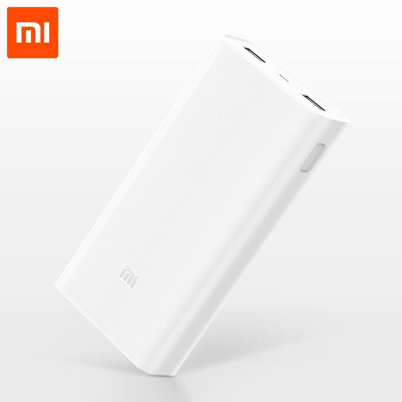 imágenes para 20000 mAh Original Xiaomi mi Poder Bank2 QC3.0 Inteligente de Carga Rápida banco de la Energía de Batería Externa Portable Del Cargador para el Teléfono Móvil