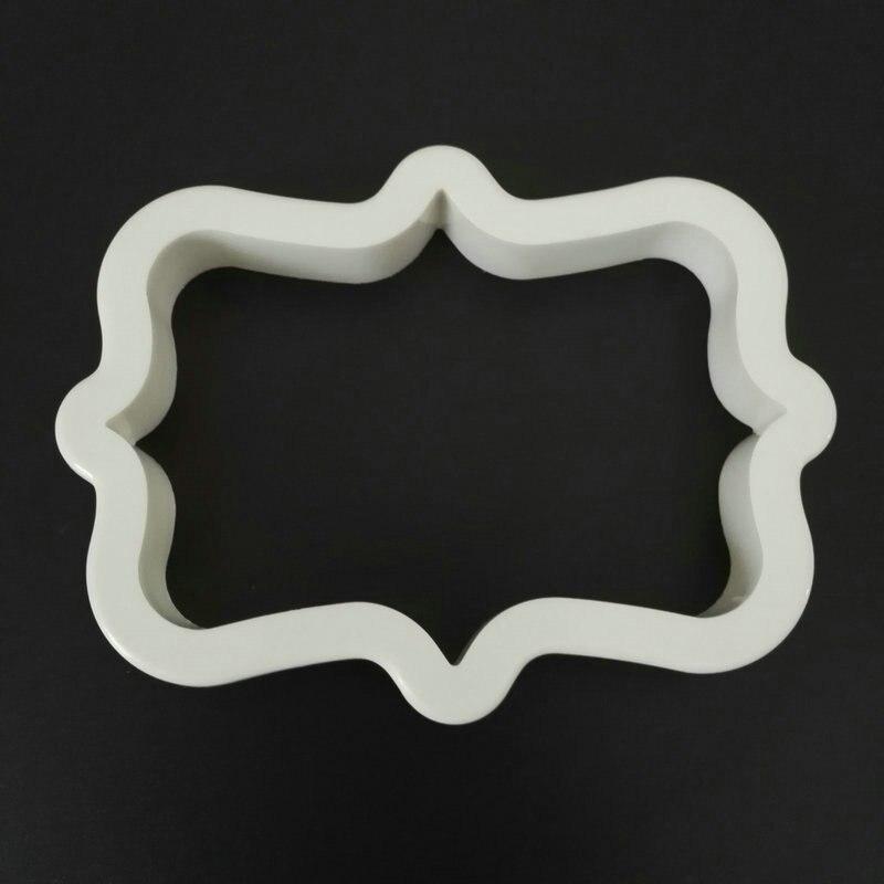 4 дана Vintage Plaque Frame Cookie Cutter жиынтығы - Тағамдар, тамақтану және бар - фото 5