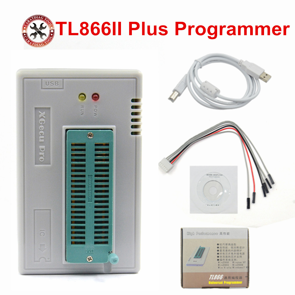 2018 Hot Selling TL866II USB Universal Programmer Bios ECU 1 8V nand flash 24 93 25