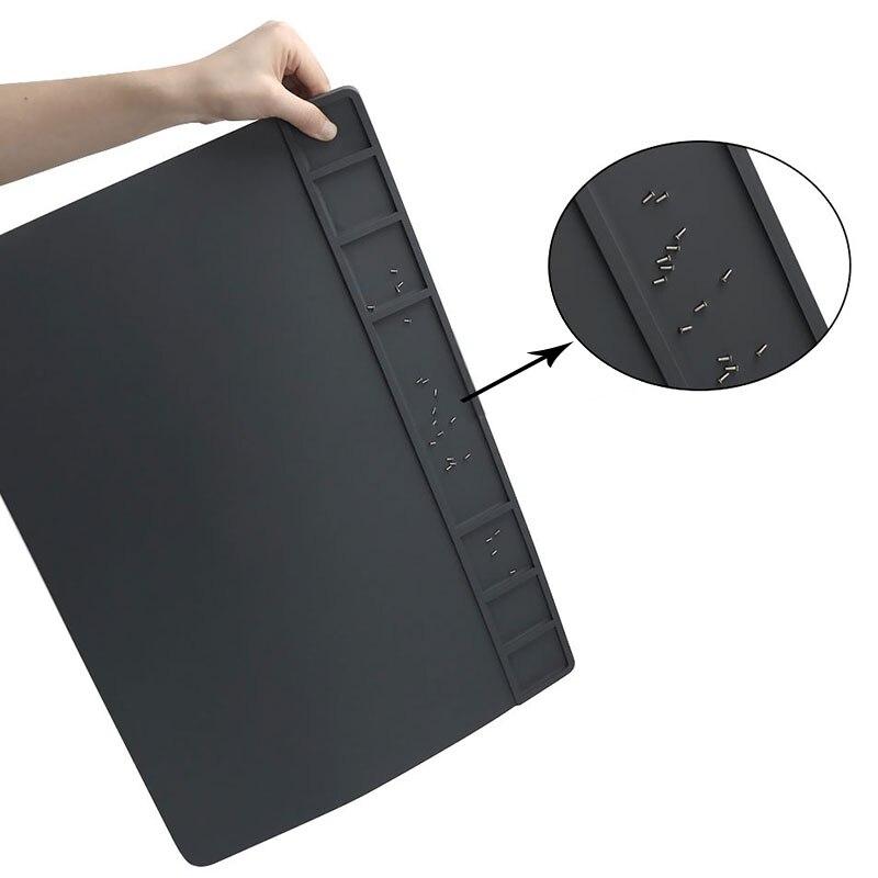 Hőszigetelő pad mobiltelefon javító eszköz mágneses csavar mat - Szerszámkészletek - Fénykép 4